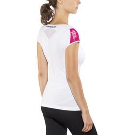Compressport Trail Running V2 Koszulka do biegania z krótkim rękawem Kobiety biały